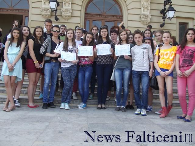 elevii suceveni participanti la concurs
