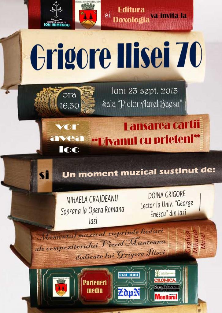 Afis Grigore Ilisei 70