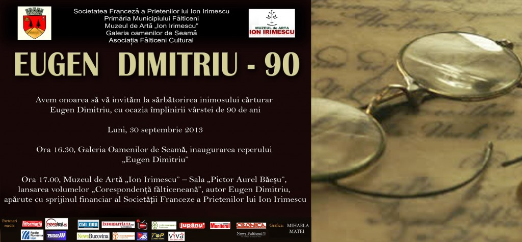 Invitatie-EUGEN DIMITRIU 90