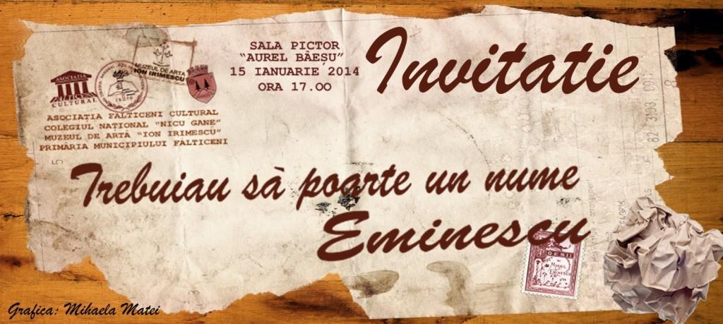 Falticeni-Invitatie eveniment 15.01.2014