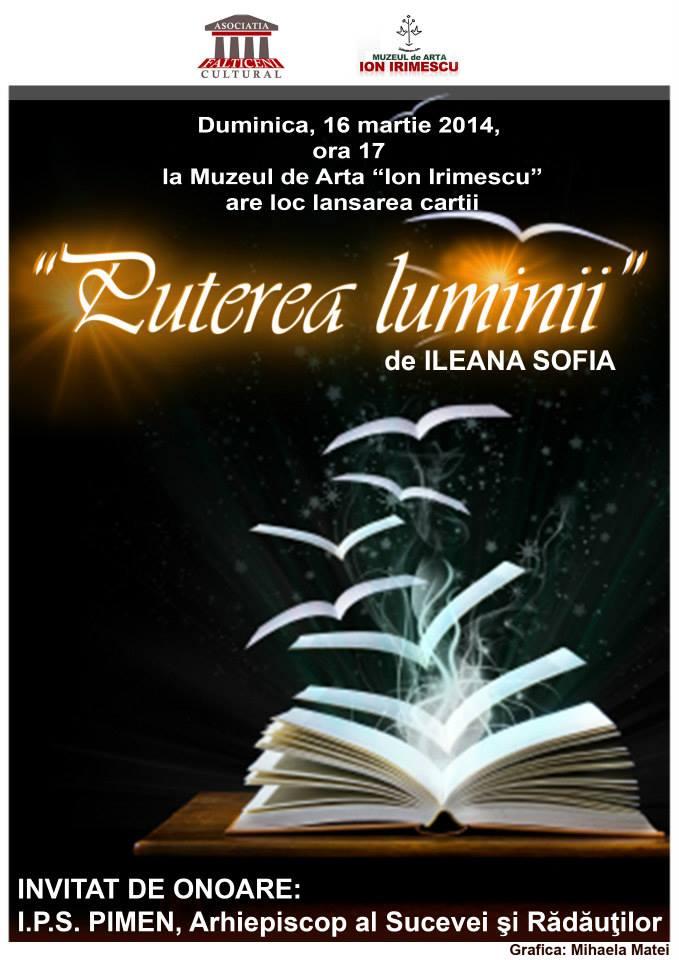 Lansare de carte- PUTEREA LUMINII-16 martie, Sala pictor Aurel Baesu (1)