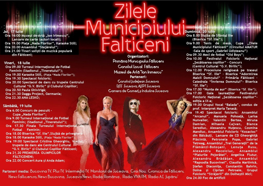 Falticeni-ZILELE MUNICIPIULUI 2014
