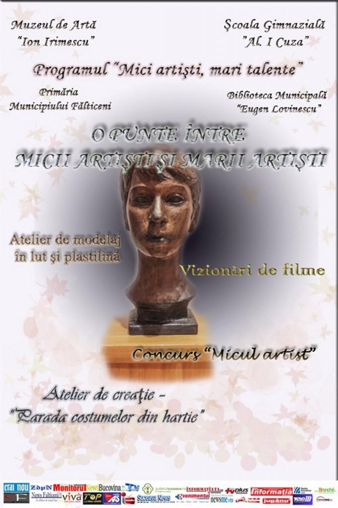 Falticeni-O PUNTE MICII ARTISTI
