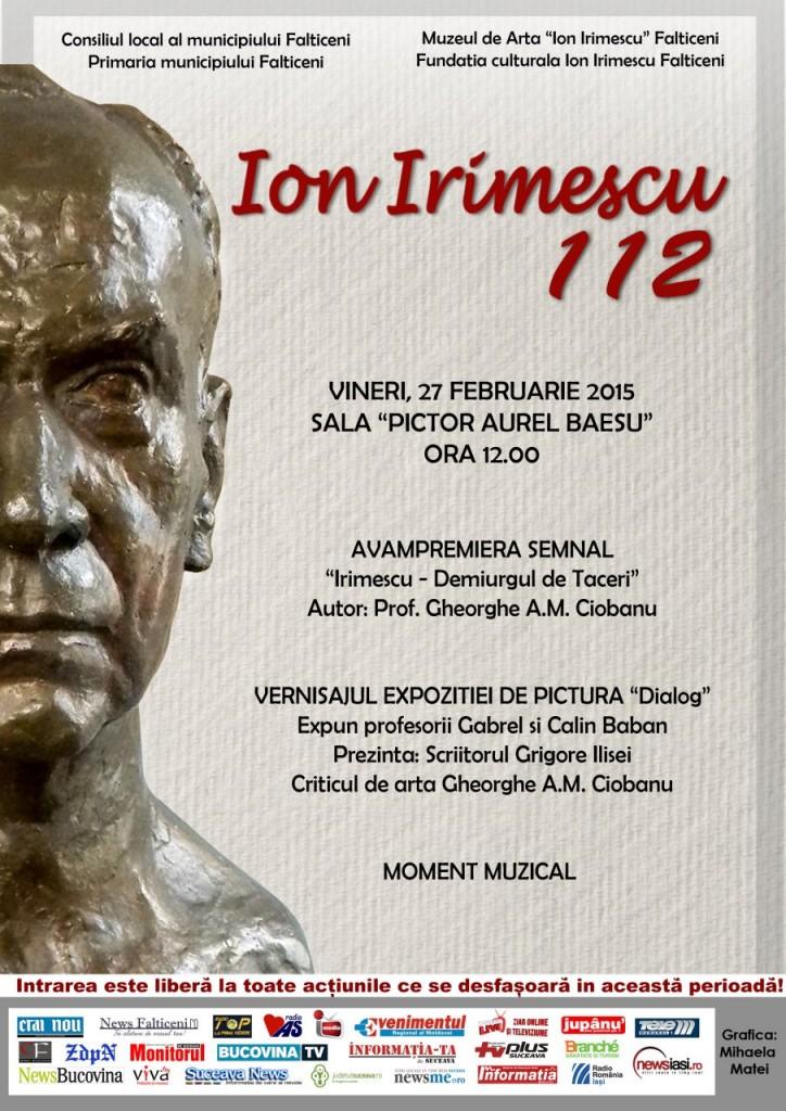 Falticeni-afis Irimescu 112