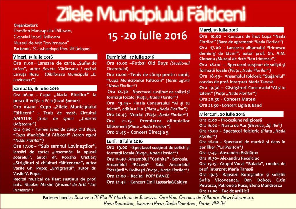 Falticeni-ZMF Detaliere evenimente